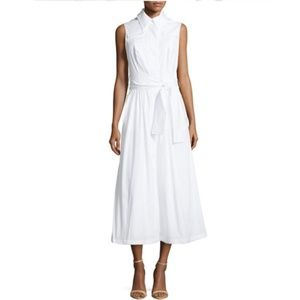 Carolina Herrera sleeveless cotton midi dress
